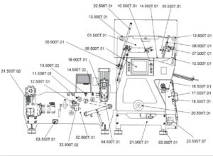 Автоматизированный штамповочный станок Remele Deckel Master 500T